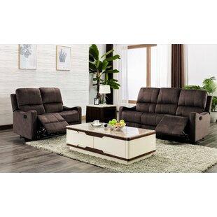 Port Augusta 2 Piece Reclining Living Room Set by Red Barrel Studio®