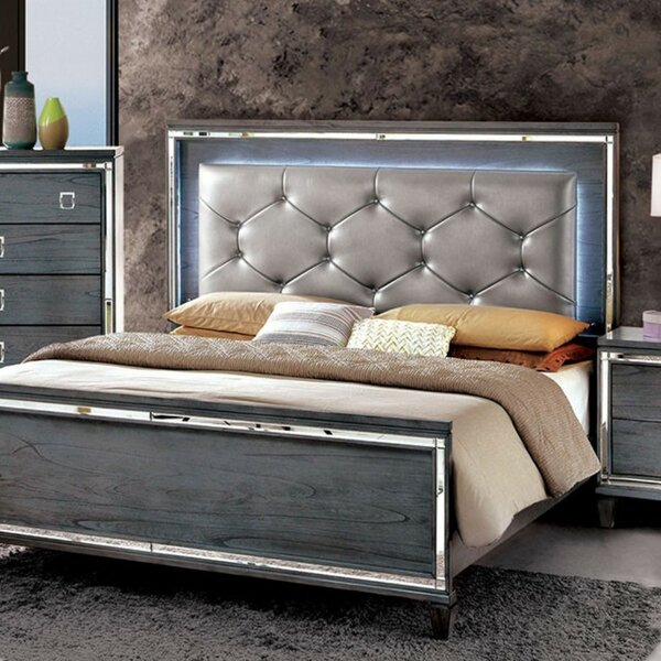 Lipe Upholstered Platform Bed by House of Hampton