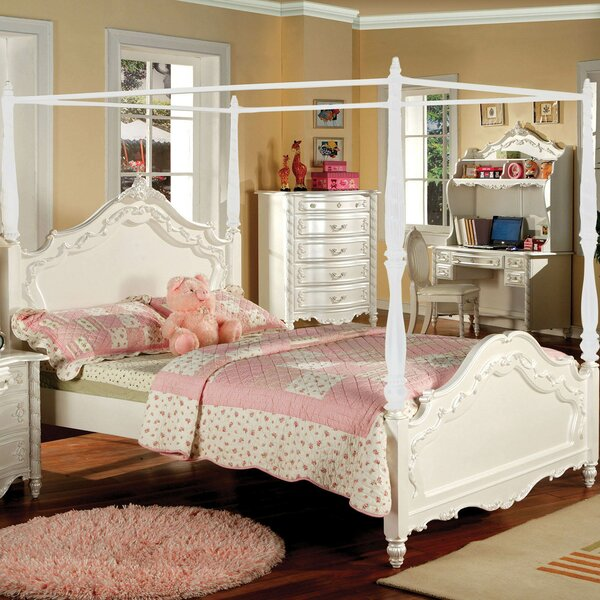 Seligman Four Poster Bed by Rosdorf Park