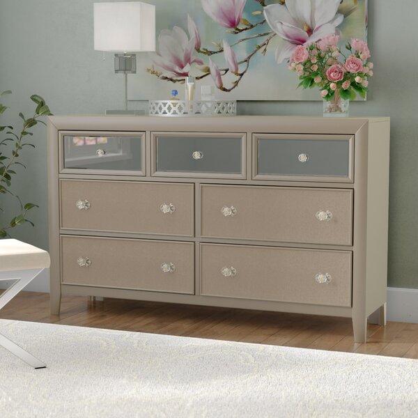 Gottfried 7 Drawer Standard Dresser by Willa Arlo Interiors