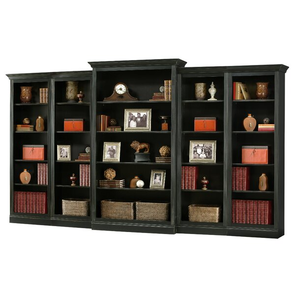 Bradburn Center Library Bookcase By Canora Grey