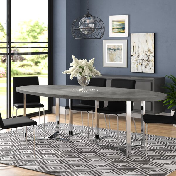 Emlenton Oval Dining Table by Wade Logan