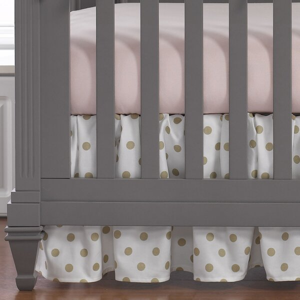 Brownsboro Gathered Crib Skirt by Greyleigh