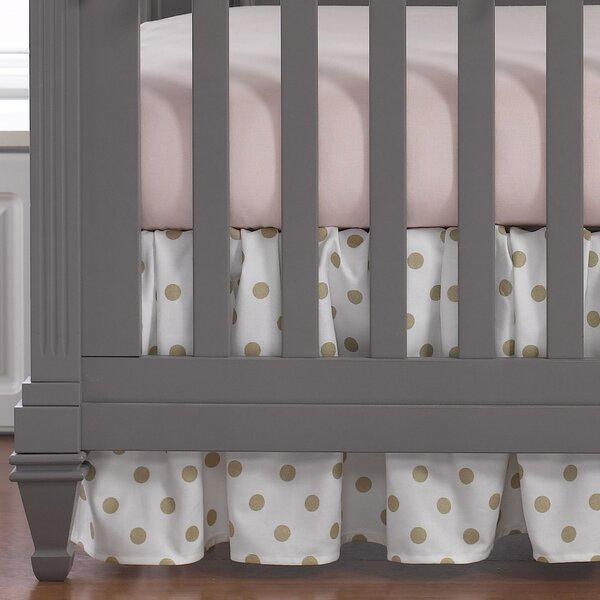 Brownsboro Gathered Crib Skirt by Greyleigh