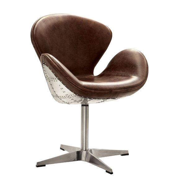 Annessia Swivel Armchair By 17 Stories