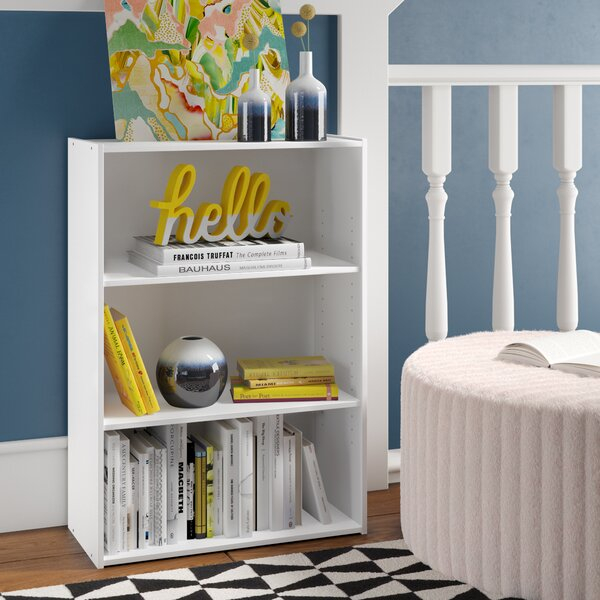 Hinshaw 3-Shelf Standard Bookcase by Latitude Run