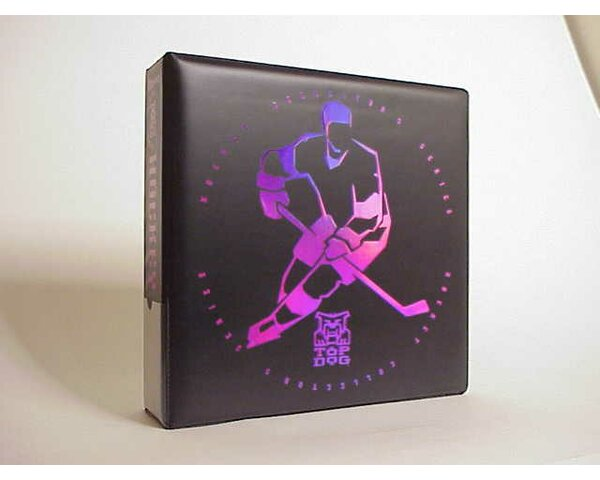 NHL Top Dog Hockey Album in Black by Ultra Pro