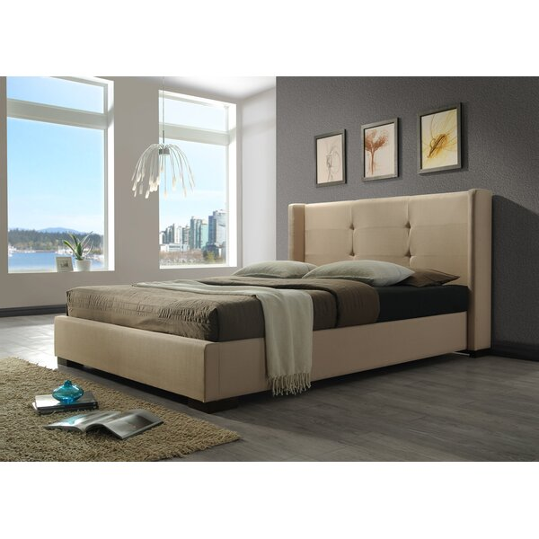 Upholstered Platform Bed by DG Casa