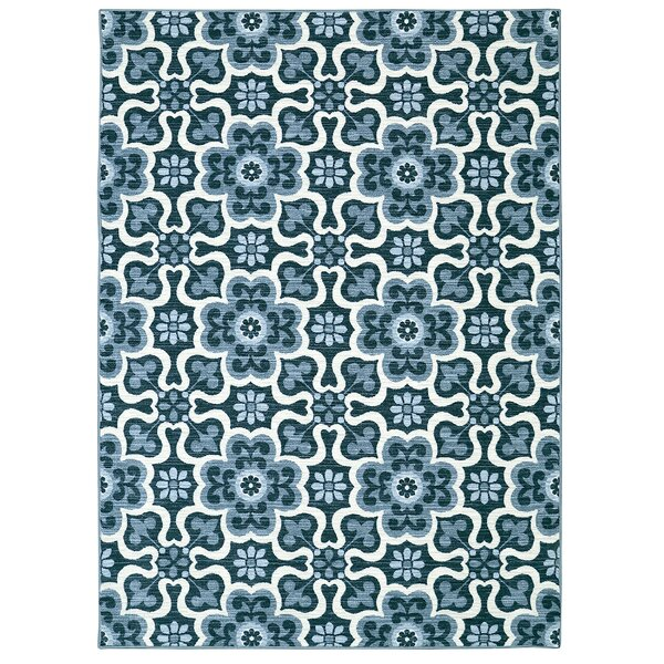 Maryville Blue Area Rug by Charlton Home