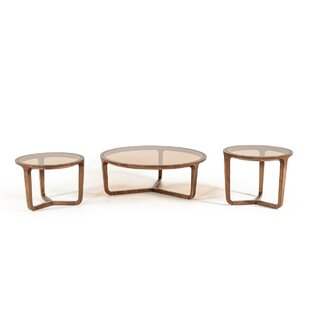 Croxton 3 Piece Coffee Table Set Corrigan Studio