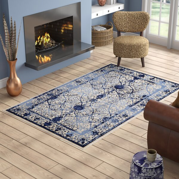 Shailene Blue Area Rug by Mistana