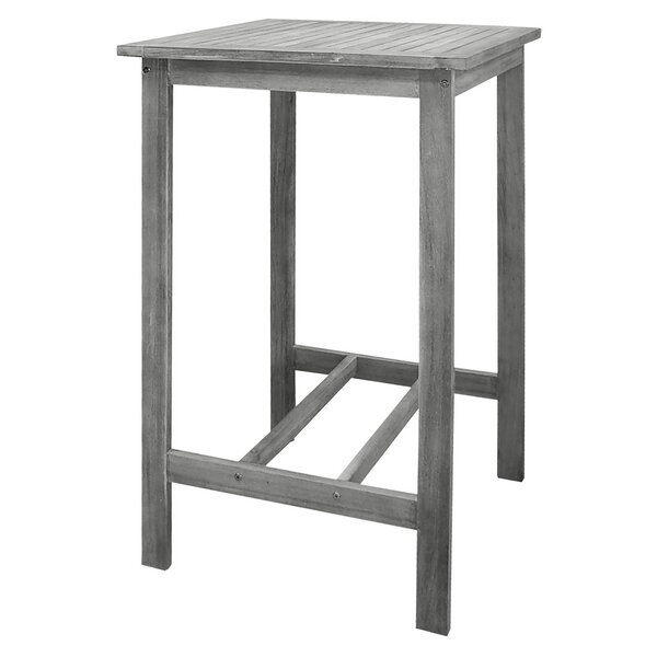 Densmorer Wooden Bar Table by Darby Home Co