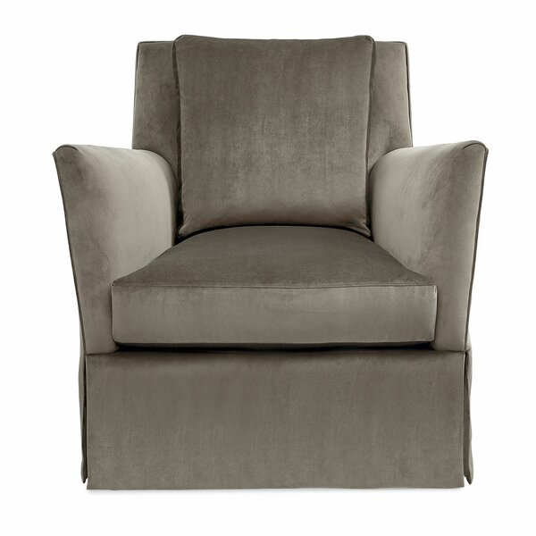 Swivel Armchair by Caracole Classic