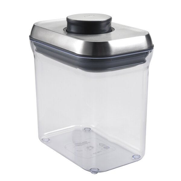 Steel Rectangle Pop 48 Oz. Food Storage Container by OXO
