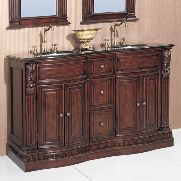 Science 60 Double Chest Bathroom Vanity Set by Astoria Grand