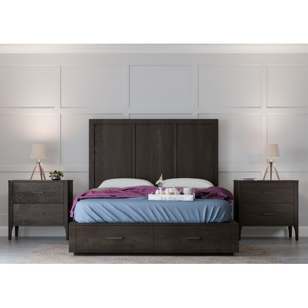 Mifley Platform 3 Piece Bedroom Set by Wrought Studio
