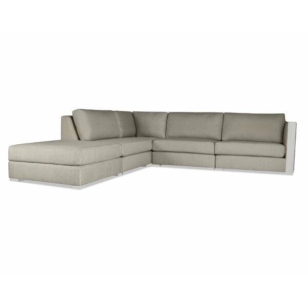 Steffi Right Arm L-Shape Left Sectional With Ottoman By Orren Ellis Great price