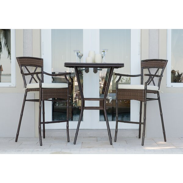 Rum Cay 3 Piece Dining Set by Panama Jack Outdoor