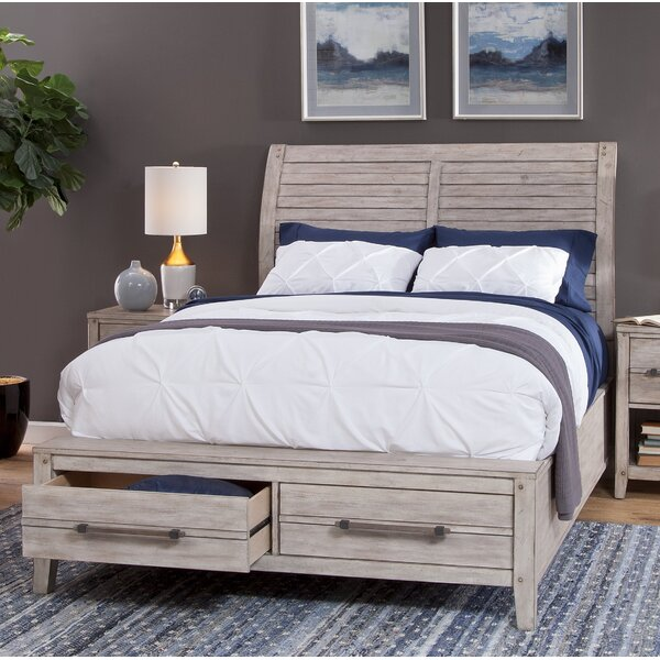 Tirado Queen Sleigh Configurable Bedroom Set by Gracie Oaks