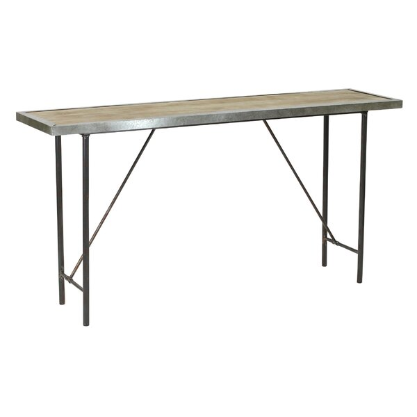 Best Price Abrams Farmhouse Console Table