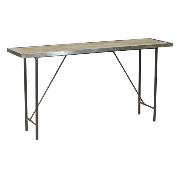 Discount Abrams Farmhouse Console Table