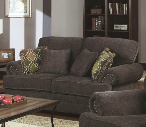 Fresh Danielle Loveseat by Alcott Hill by Alcott Hill