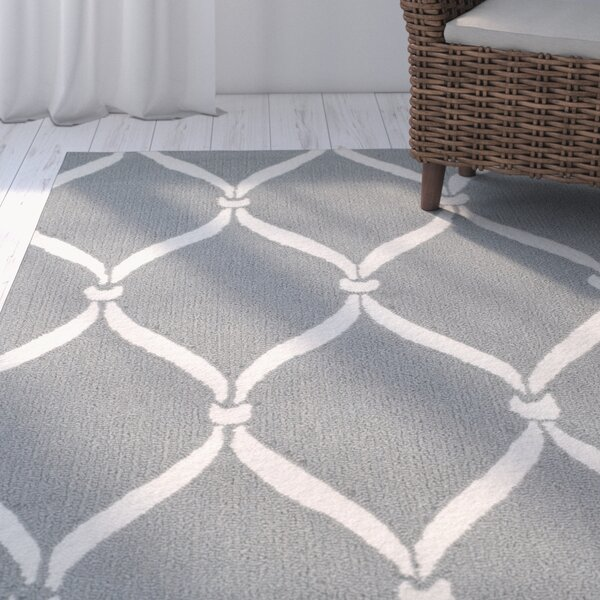 Coventry Gray/Ivory Area Rug by Beachcrest Home