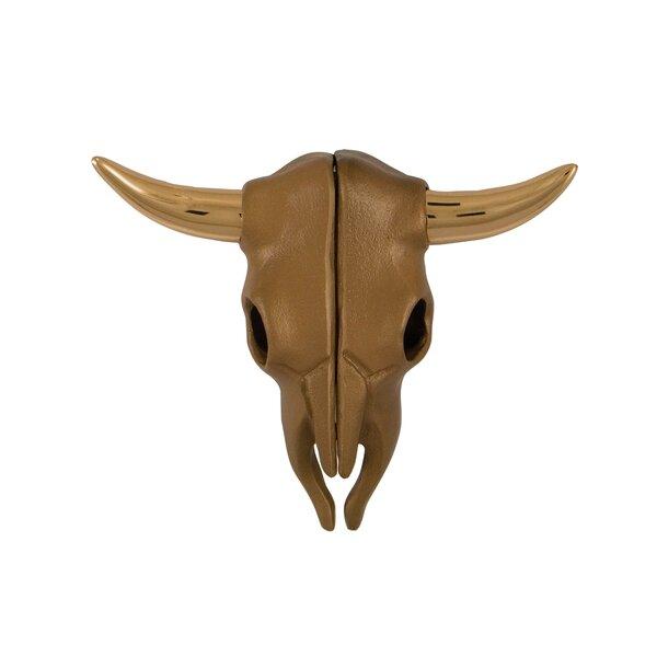 Steer Skull Door Knocker by Michael Healy Designs