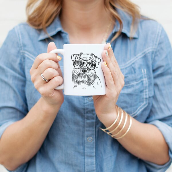 Arneson Schnauzer Dog Coffee Mug by Wrought Studio