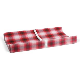 Purchase Deerfield Flannel Plaid Changing Pad Cover ByHarriet Bee