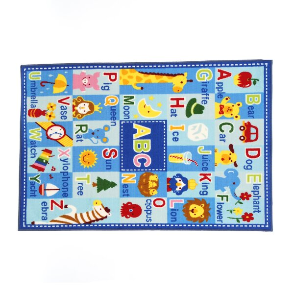 Fun Time Letters and Names Area Rug by Fun Rugs