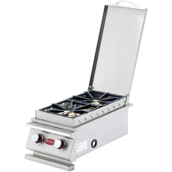 30,000 BTU Drop-In Side Burner by Cal Flame
