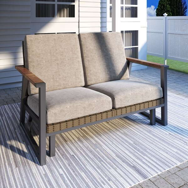 Sabite Loveseat With Cushions By Latitude Run