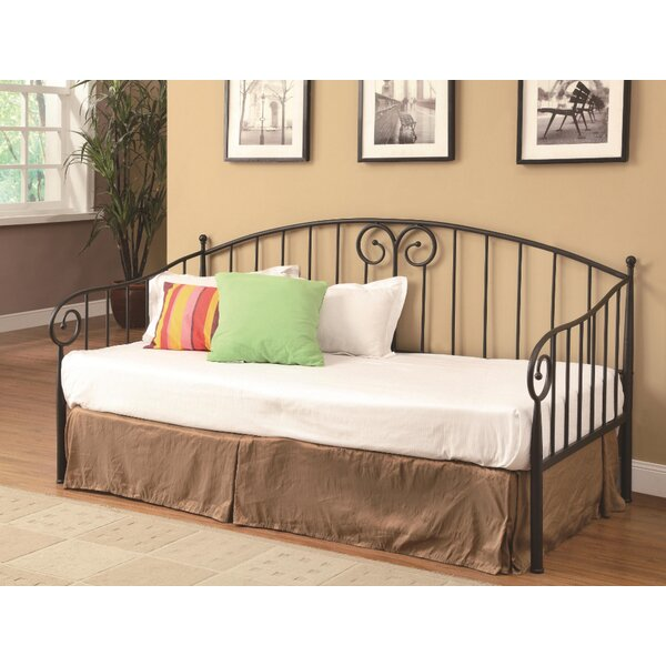 Scudder Metal Twin Daybed by Harriet Bee