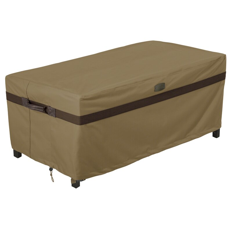 Classic accessories hickory patio table cover reviews for Wayfair garden furniture covers