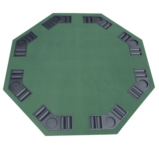 Deluxe Foldable Poker Table Cover by HomCom