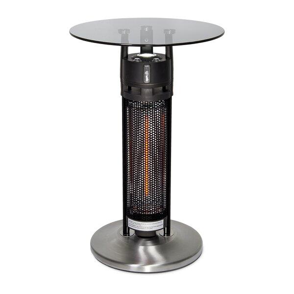PureHeat Table 1500 Watt Electric Patio Heater by GreenTech Environmental