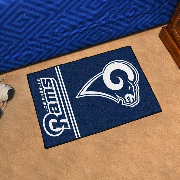 NFL - Los Angeles Rams Starter Doormat by FANMATS