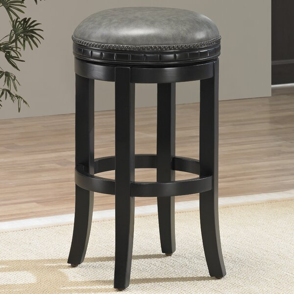 Bulwell 26 Swivel Round Bar Stool by Darby Home Co