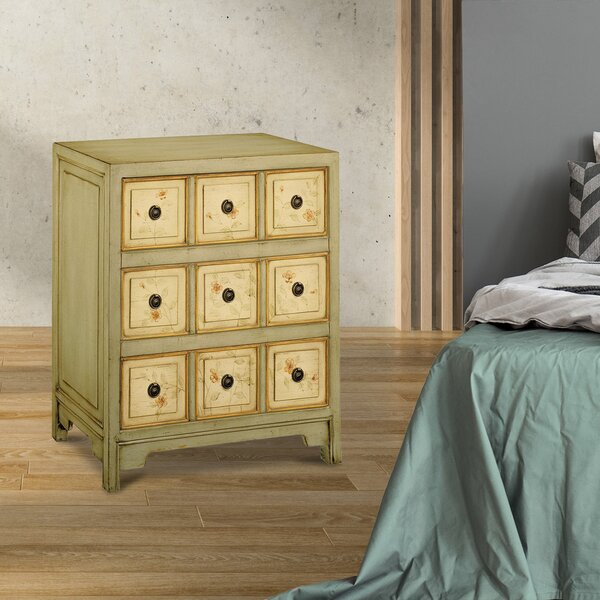 Finkelstein 3- Drawers Standard Chest by Ophelia & Co.