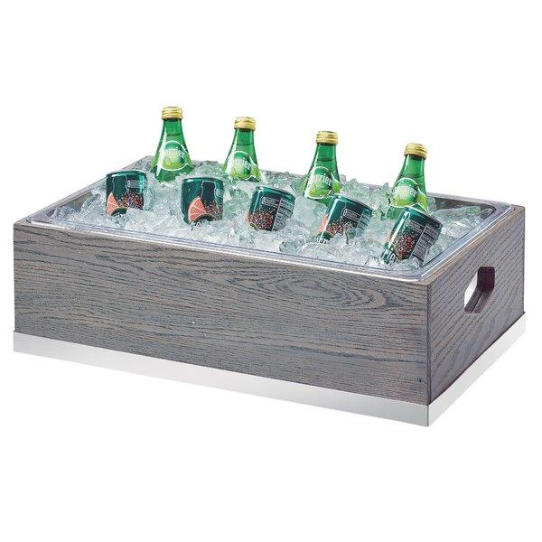 Leonia Ice Housing Ashwood Beverage Tub by Latitude Run