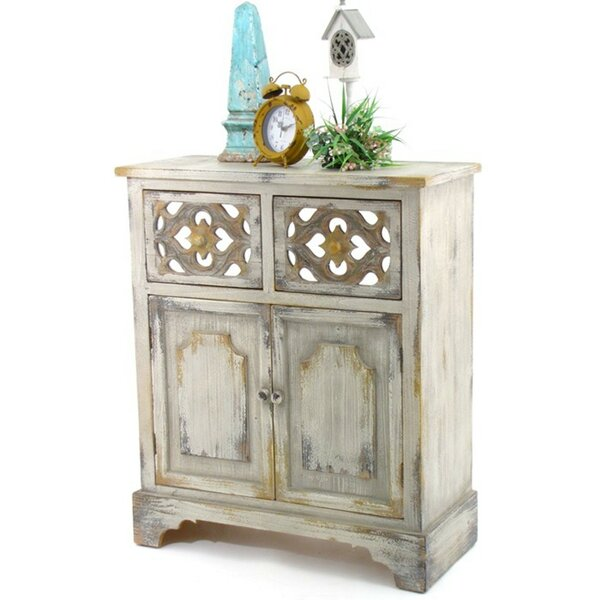 Heavner Wooden 2 Door Accent Cabinet by Bloomsbury Market Bloomsbury Market