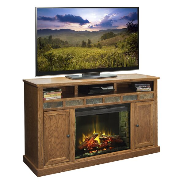 Oak Creek 62 TV Stand with Fireplace by Legends Furniture