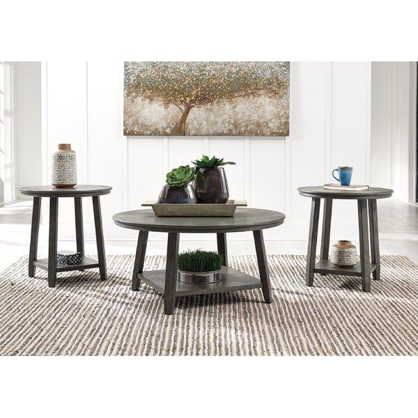 Cavallaro 3 Piece Coffee Table Set By Gracie Oaks