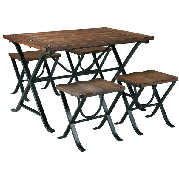 Superior 5 Piece Dining Set by Foundry Select