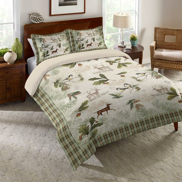 Vidrio Woodland Forest Comforter by Millwood Pines