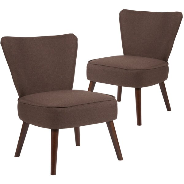 MacArthur Fabric Side Chair (Set of 2) by Ebern Designs Ebern Designs