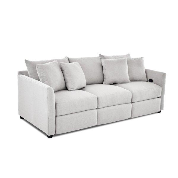 Georgia Reclining Sofa by Wayfair Custom Upholstery™