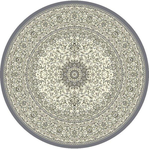 Attell Oriental Cream/Gray Area Rug by Astoria Grand