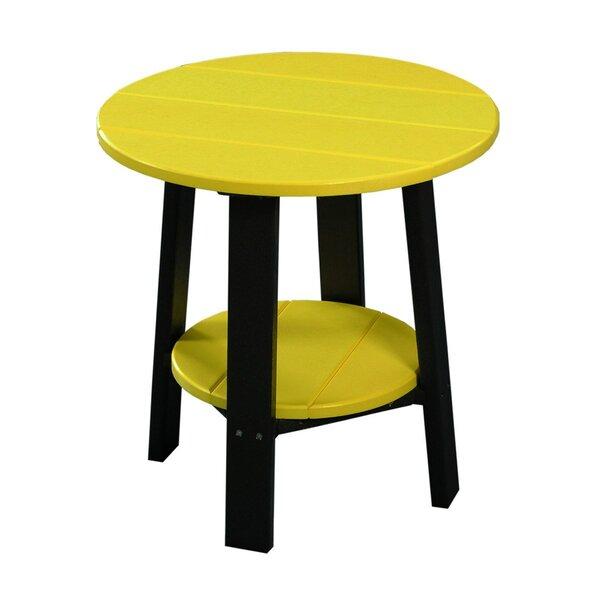 Waddells Plastic Side Table by Ebern Designs